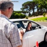 aula de direção automotiva