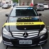 auto escola carros Vila Romana
