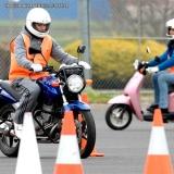 habilitação moto a Vila Romano